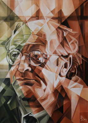 Vasily Krotkov. Singer of broken lines. Kubofuturizm