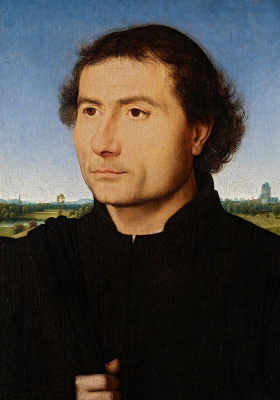 Hans Memling. Portrait of a man