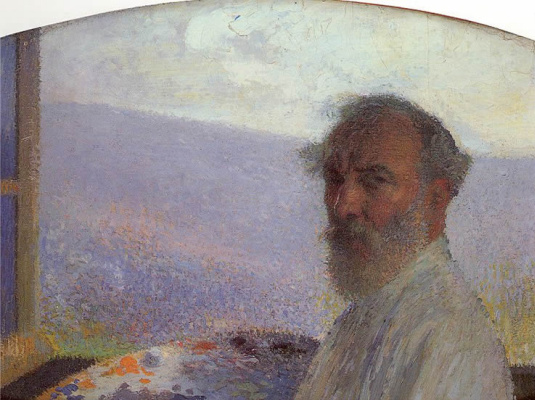 Henri Martin. Self-portrait