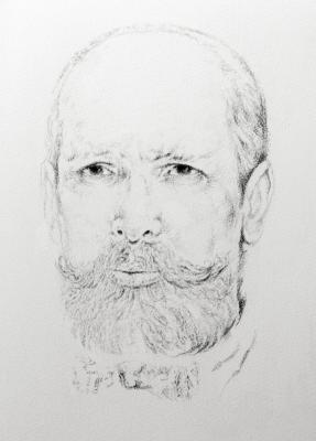 Ольга Акаси. Portrait of Pyotr Stolypin