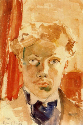 Raoul Dufy. Portrait of a man