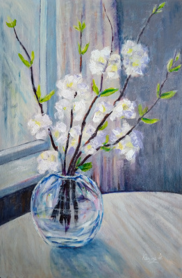 Karine Andriasyan. White tenderness