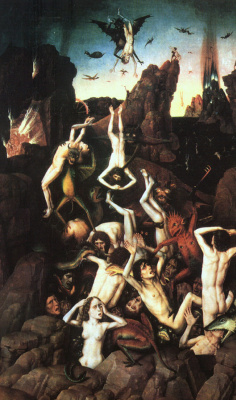 Dirk Bouts. The fall of the damned