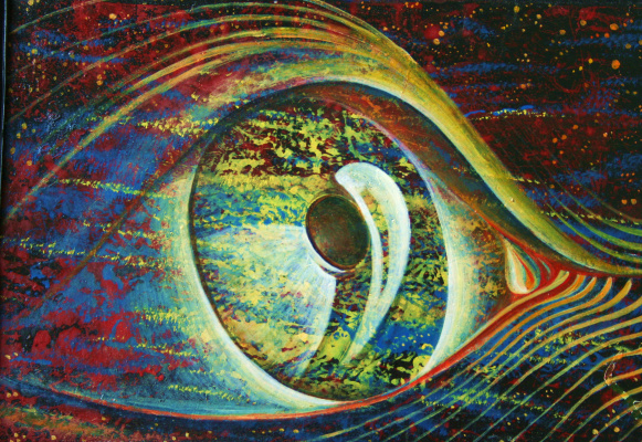 Vyacheslav Grigorevich Milov. All-seeing eye