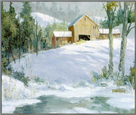 Барбара Гудспид. Зимний пейзаж