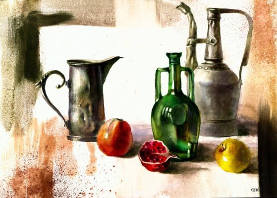 Александр Карпан. Зелёная бутылка
