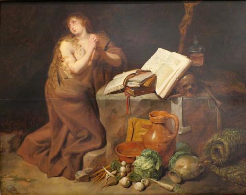 Давид Рейкарт. Покаяние Магдалины