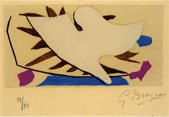 Жорж Брак. Белая птица