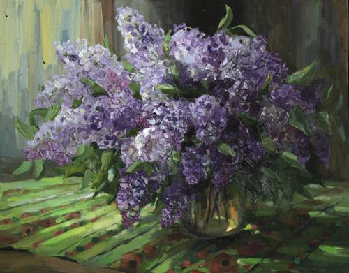 Svetlana Holodnyak. Lilac