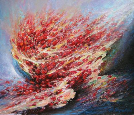 Andrei Ivanovich Boravik. The color of pomegranates