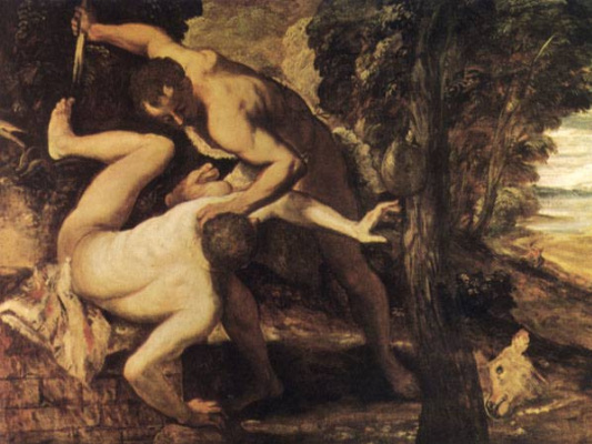 Якопо Тинторетто. Каин и Авель