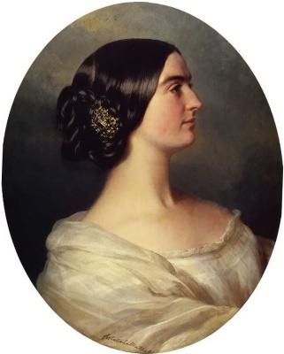 Franz Xaver Winterhalter. Charlotte Stuart, viscountess canning