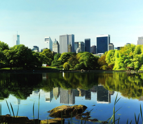 Raffaella Spence. Central Park