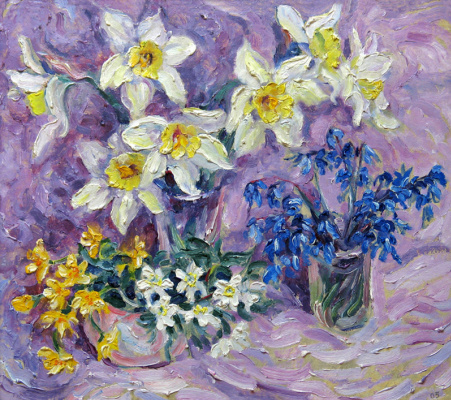 Alexey Vladimirovich Konstantinov. First flowers