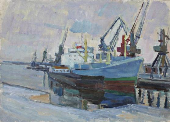 Boris Stepanovich Petrov. Sea port