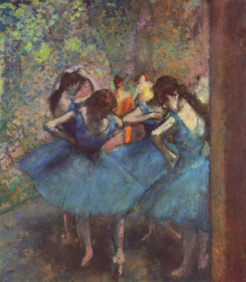 Edgar Degas. Dancers