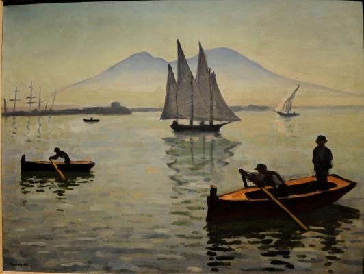 Albert Marquet. Sailboat in Parole