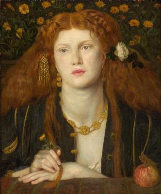 Dante Gabriel Rossetti. Bocca Baciata (Portrait of Fanny Cornforth)