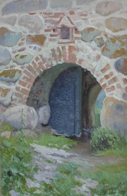 Евгений Буч. Рыбные ворота.соловецкий монастырь