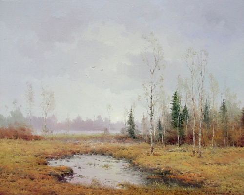 Vasily Ivanovich Gribennikov. Autumn silence