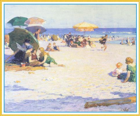Эдвард Генри Поттаст. Большой пляж