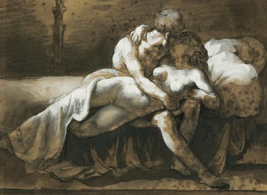 Théodore Géricault. Kiss