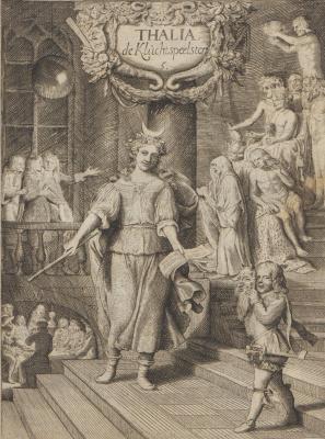 Самюэл ван Хогстратен. Введение в высшую школу живописи. Талия