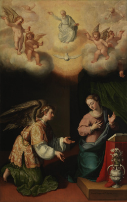Juan Pantoja de la Cruz. The Annunciation