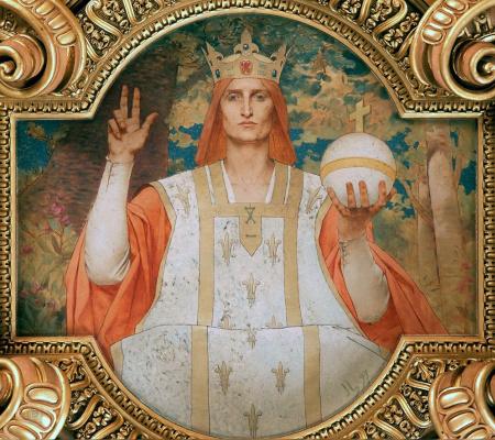 Жюль Жозеф Лефевр. Святой Людовик IX, король французский