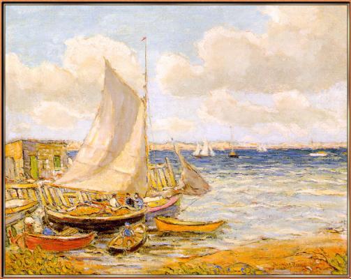 Рейнольдс Бил. Рыбацкие лодки в Джамстоун