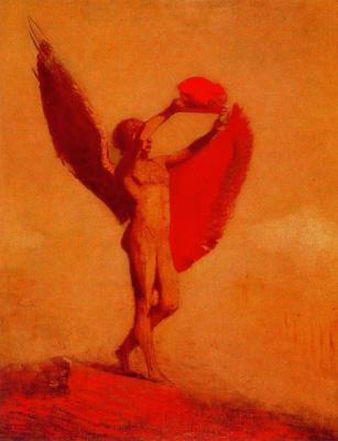 Odilon Redon. Icarus