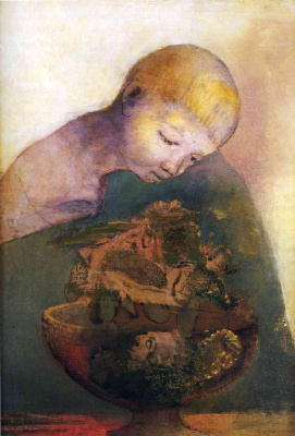 Odilon Redon. Cup of knowledge (Children's Cup)