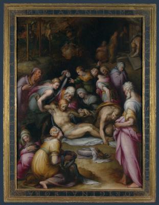 Джованни Баттиста Нальдини. Оплакивание мертвого Христа