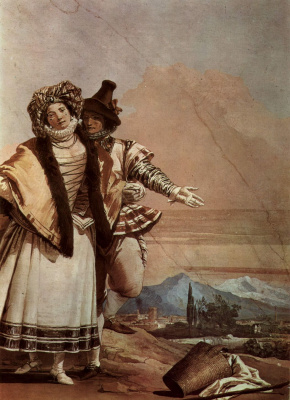 Giovanni Battista Tiepolo. A Declaration of love. The frescoes of the Villa Valmarana, Vicenza