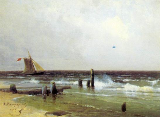 Арсений Иванович Мещерский. Морской пейзаж