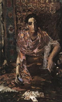Mikhail Vrubel. The fortune teller