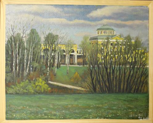 Victor Andreevich Chepurko. Palace a Pavlovsk