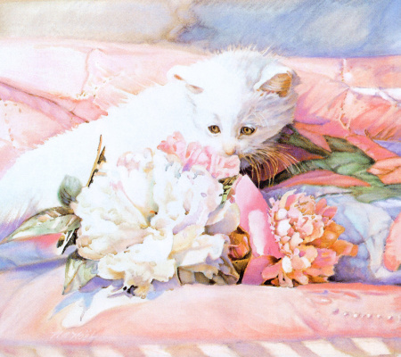 Nancy Noel. Kitty