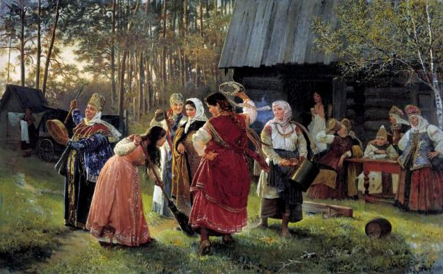 Алексей Иванович Корзухин. Девичник