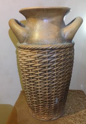 Andrey and Elena Oryol Ceramic Factory. Vase Antika