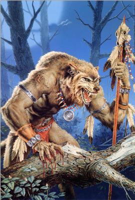 Clyde Caldwell. Werewolf