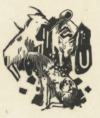 Franz Marc. Animals