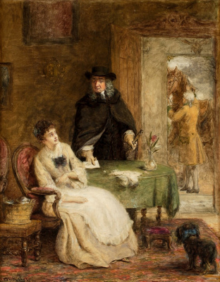 Beehives Powell Fright Great Britain 1819-1909. Jonathan Swift and Vanessa. Private collection