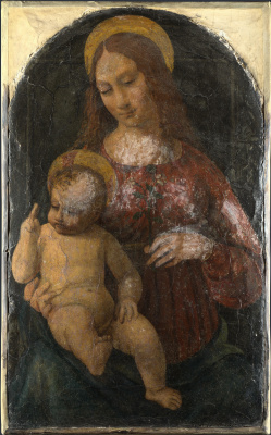 Миланский Итальянский. Дева с младенцем
