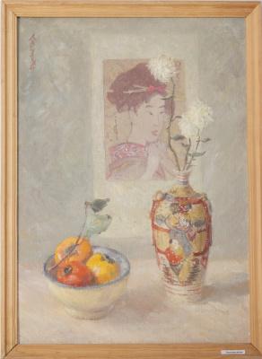 Sergey Yakovlevich Lagutin. Japanese motif