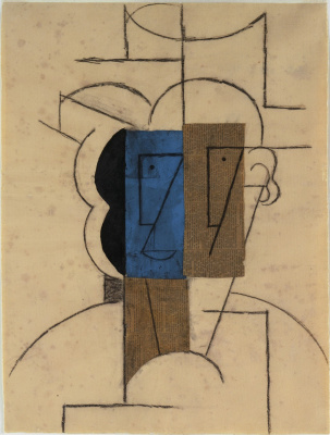 Pablo Picasso. The man in the hat