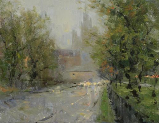 Alexander Evgenievich Kosnichev. Rainy day