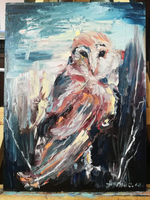 Olga Yuryevna Serebrova-Artes. Owl