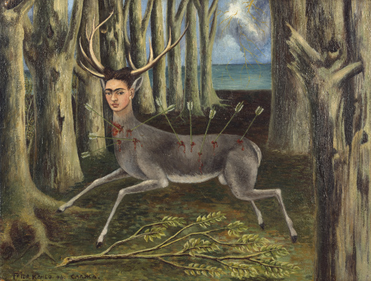 Frida Kahlo. A wounded deer