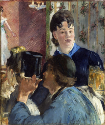 Edouard Manet. The waitress beer